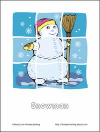 Snowmanpuzzle